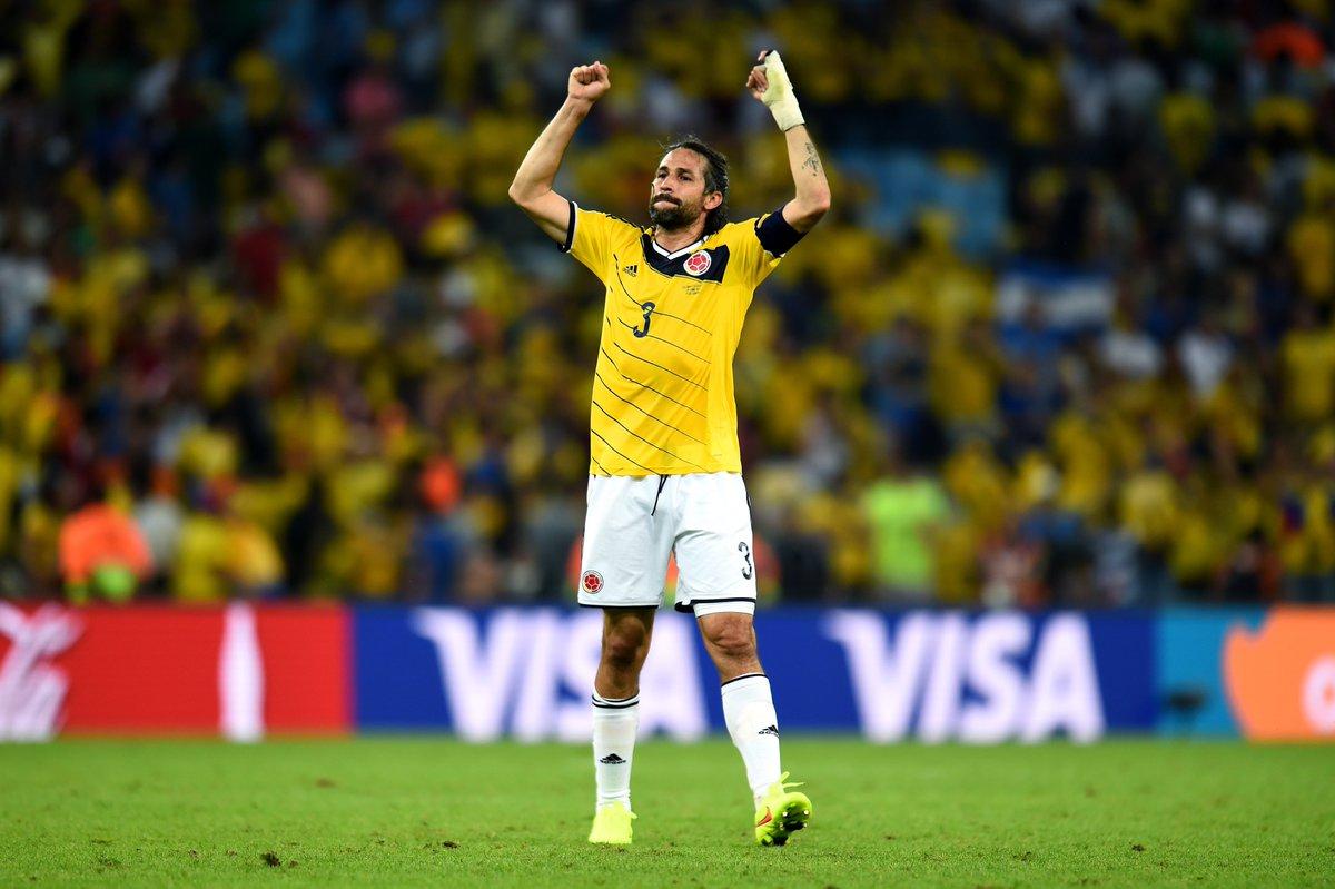 Replying to @fifaworldcup_es: Muralla defensiva y  capitán de 🇨🇴@FCFSeleccionCol.  ¡Feliz cumpleaños, @marioayepes!      😗💨🎂
