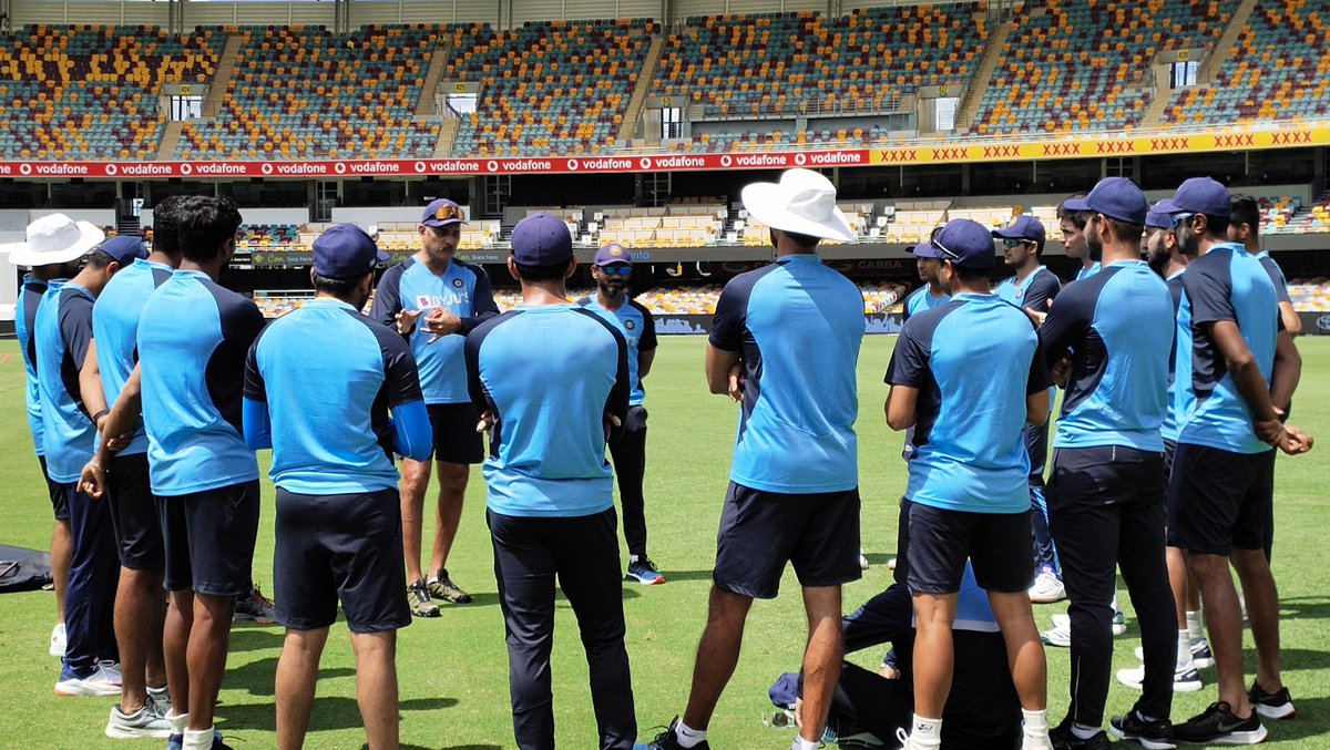 After an epic fightback in Sydney, it is time to regroup. We have begun our preparations for the final Test at the Gabba! #TeamIndia #AUSvIND