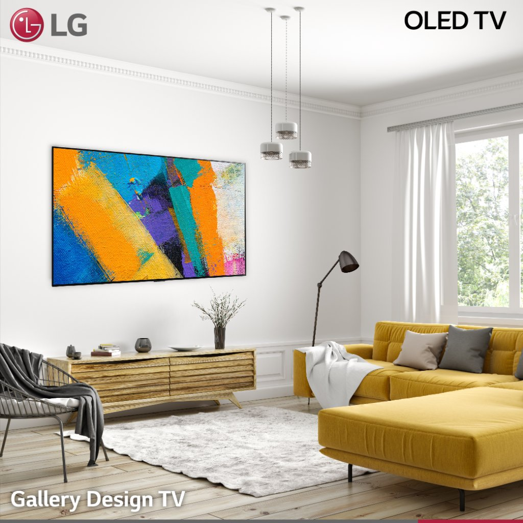 The perfect home finish. Visit  for additional product information or visit  for everything you need to know about LG's range of OLEDs  #LG #LGOLEDTV #OLED #TV #AI #Voice #Smart #Entertainment #Interior #designr #gallerydesign