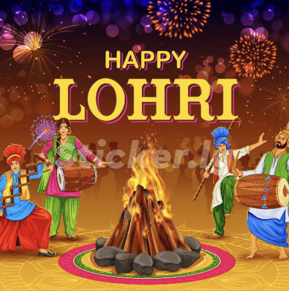 #happylohri to one and all....may this festival ring in the positivity and light we all need ....❤️🙏