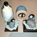 Image for the Tweet beginning: いらっしゃい、新たなひなちゃんたち🥰🐧🐧🐧 #コウテイペンギン #エンペラーペンギン #皇帝ペンギン