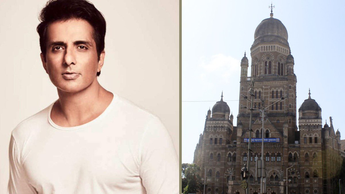 #bombayhighcourt will hear Sonu Sood's appeal challenging City Civil Court's order refusing to grant him protection from BMC's actions in furtherance of their notice alleging unauthorised development on his residential property at Juhu, Mumbai today.  @mybmc  @SonuSood
