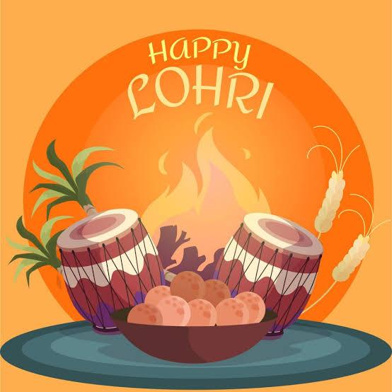लोहड़ी के पावन पर्व की आप सभी को शुभकामनाएं। Happy Lohri to you all. -@BansuriSwaraj, @SushmaSwaraj, @governorswaraj #लोहड़ी #HappyLohri2021