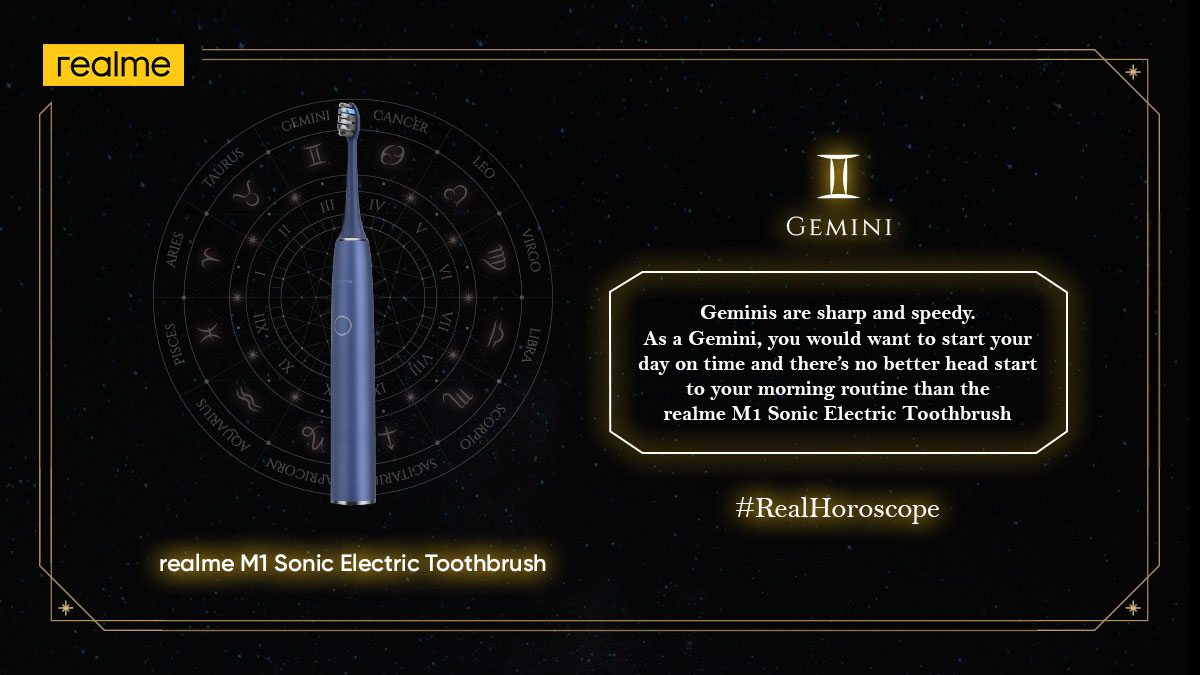 Geminis are early birds and now is your turn to start fresh. Are you ready #ForPerfectOralHealth? #RealHoroscope Stay tuned for more.
