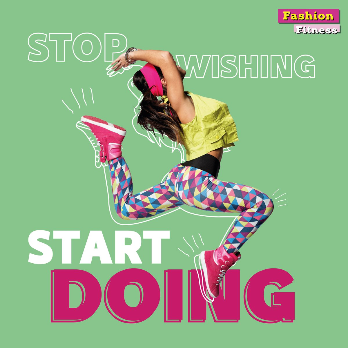 STOP WISHING, START DOING! Functional & fashionable fitness essentials now available in-stores and online.  توقف عن التمني وابدأ العمل! أساسيات اللياقة البدنية الوظيفية والعصرية -  متوفرة الآن في محلاتنا وعبر موقعنا الإلكتروني. https://t.co/bQLfU6Pd75