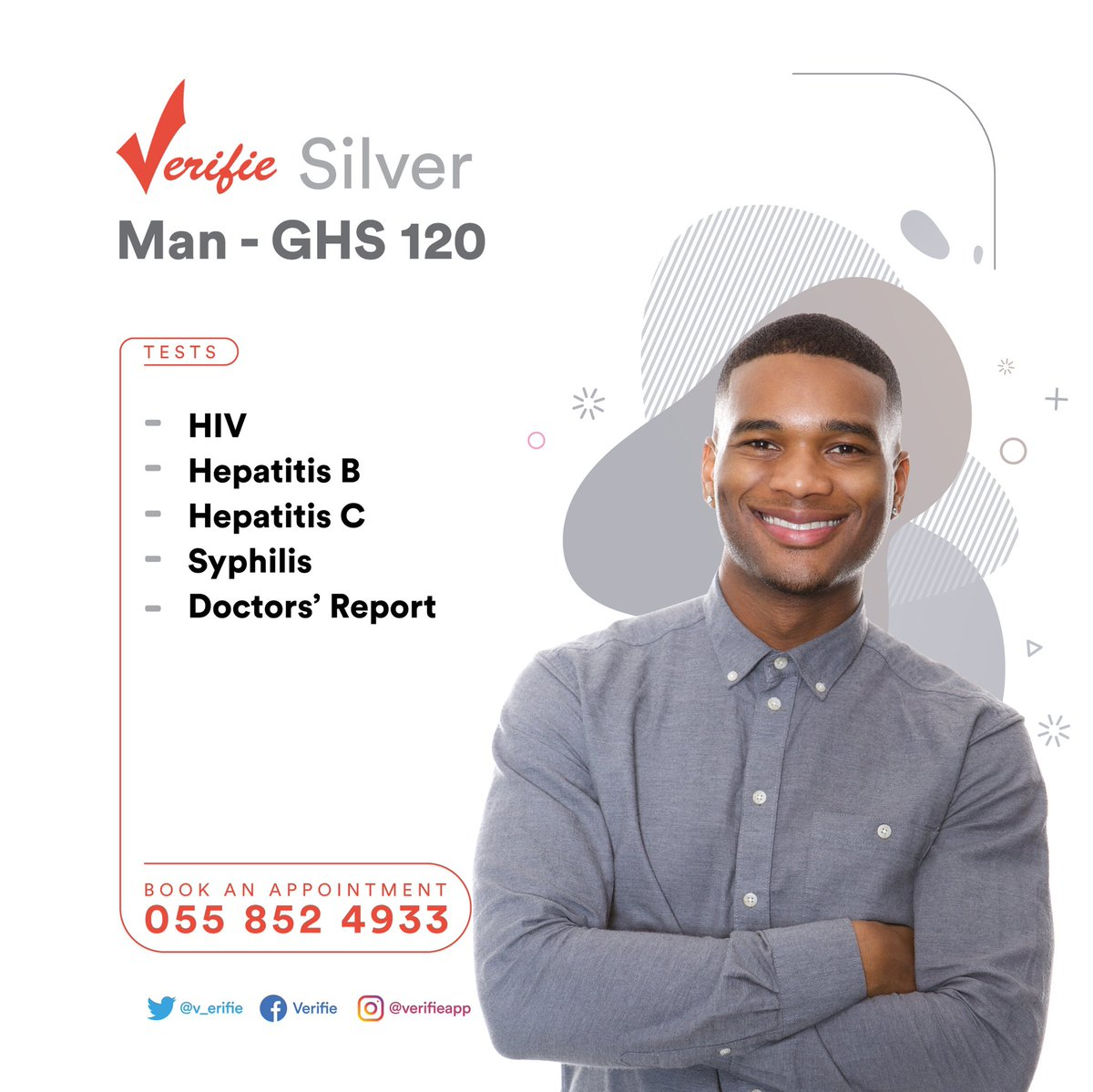 Essential and affordable instant tests for everyone. Get your results within 20mins. No hustle. We offer home service too. Click link to book an appointment