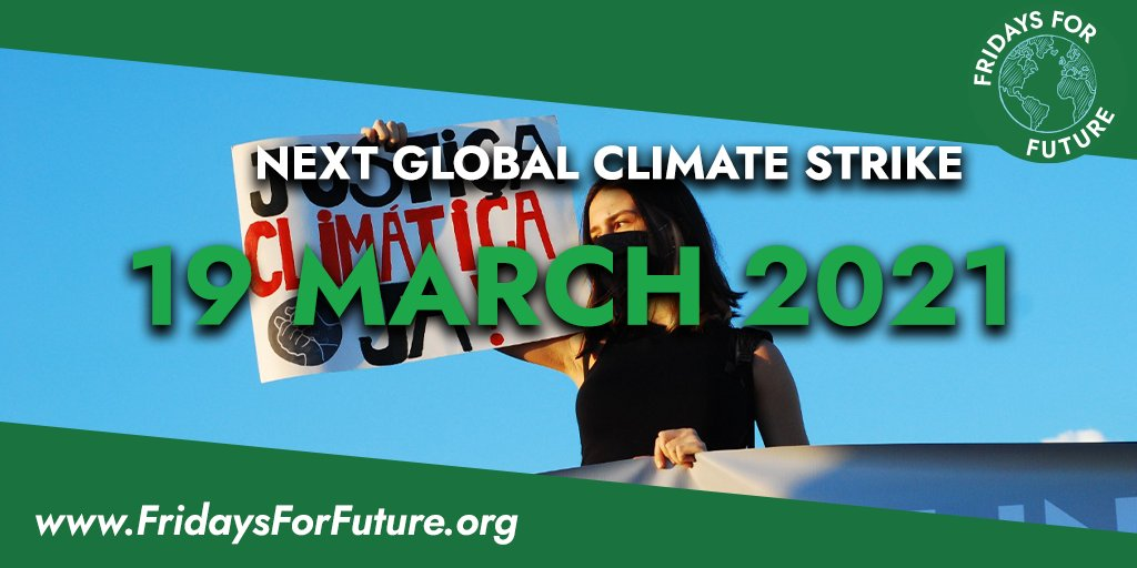 📣📣New year starts with a new strike!   Join us in the fight for climate justice this March 19. Coming back more united than ever, we will keep fighting. Leaders of the world, we are fed up. We say #NoMoreEmptyPromises! Immediate action NOW!  See more at https://t.co/UrO8ZEXf0z https://t.co/DzBHFWXSCl