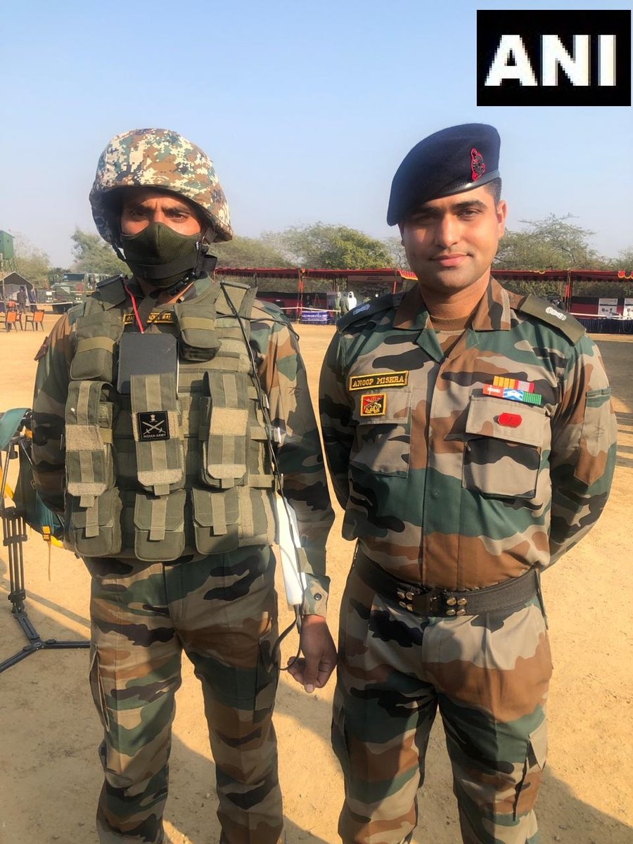 Indian Army's Major Anoop Mishra has indigenously developed world's first universal bulletproof jacket 'Shakti' which can be used by both male and female combatants. The jacket is also the world's first flexible body armour.
