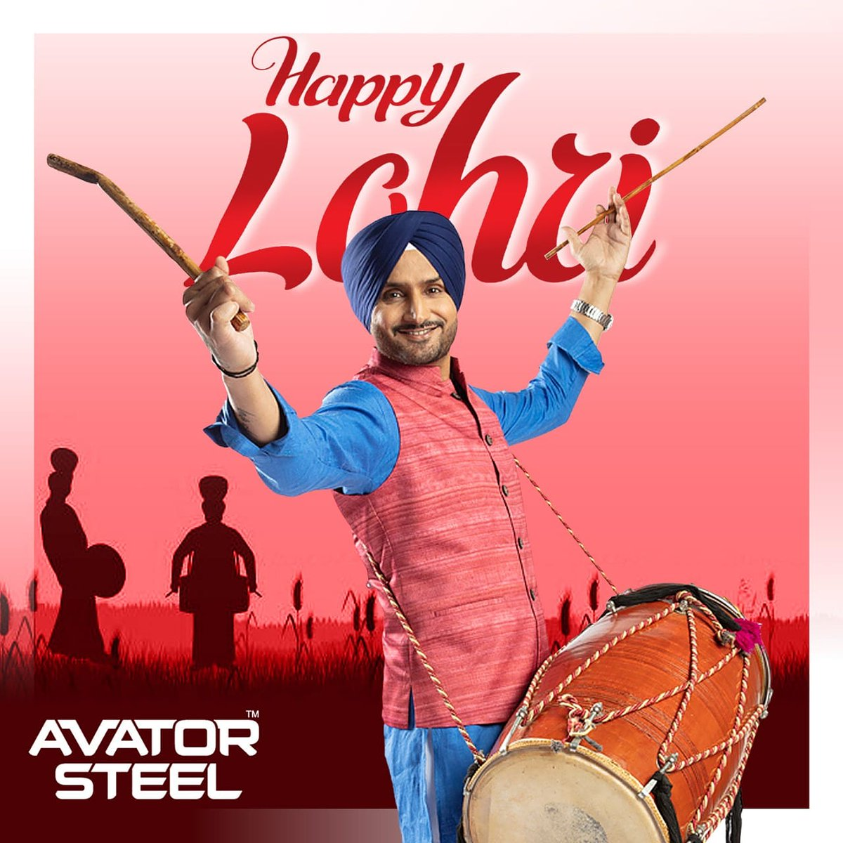May this Lohri bring lots of laughter, happiness, prosperity, and success to your home. Happy Lohri from the #AvatorSteel family!  #HarbhajanSingh #Lohri  @harbhajan_singh
