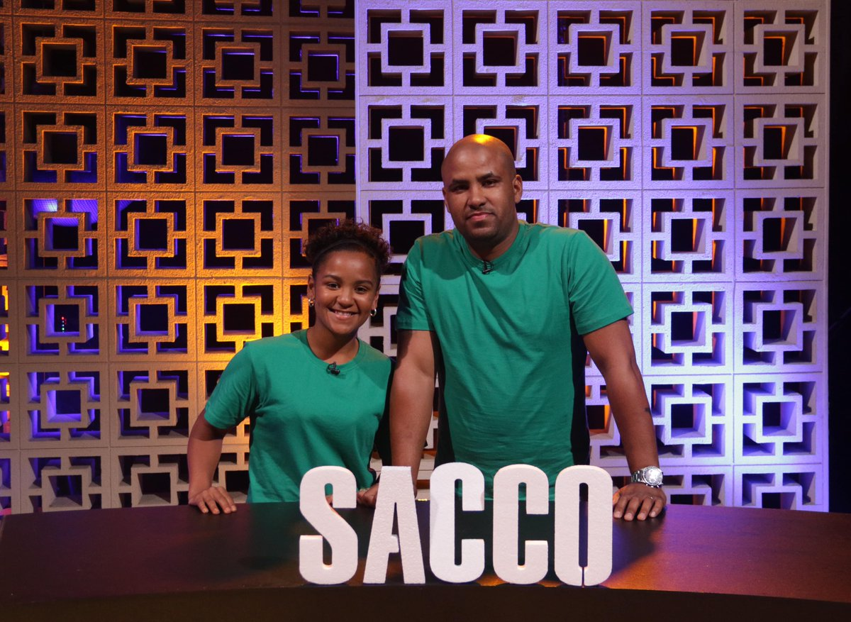 #Sacco is up to bat with  Pria Hendricks  and her dad MrLayton Sacco are you feeling this green wearing team? #HecticCHALLENGER https://t.co/fZo2VNw2fd