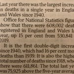 the stats that covid deniers should but probably won't read