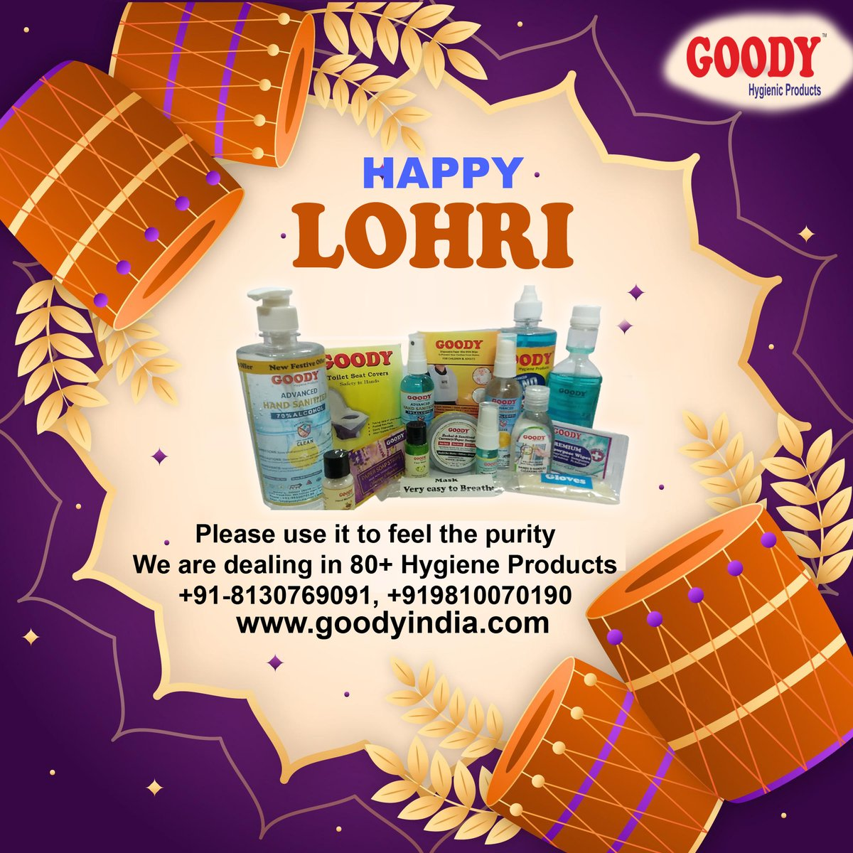 Wish you a Happy Lohri from Goody India https://t.co/psCKDBViVM