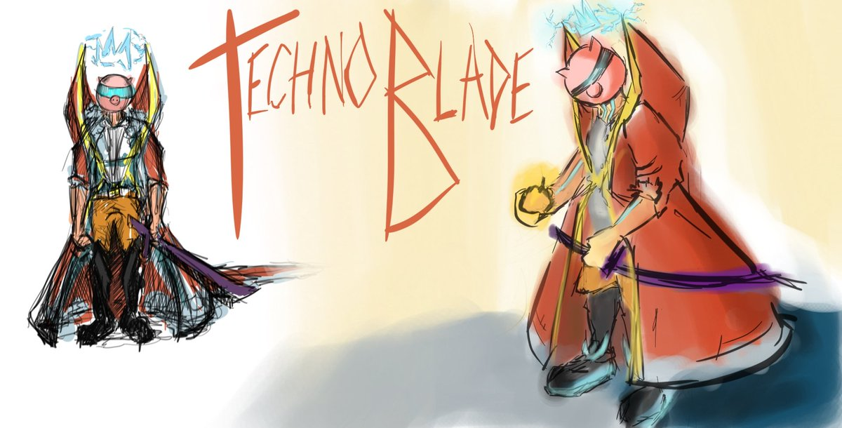 #technobladefanart #technofanart #dreamsmp #dreamsmp #concept #oc  #art my reimagined technoblade as a little more techno... And hype..  Shall I do a art of this version of techno.?  @Technothepig @Dream @tommyinnit @SAD_istfied @TechnoFanArt1 #TechnoSupport #BloodForTheBloodGod