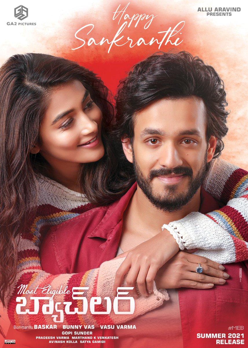 #MostElgibleBachelor will release in Summer 2021  #akhilakkineni #PoojaHegde #poojahedge #pooja #tollluwoodactress #FilmyFoster