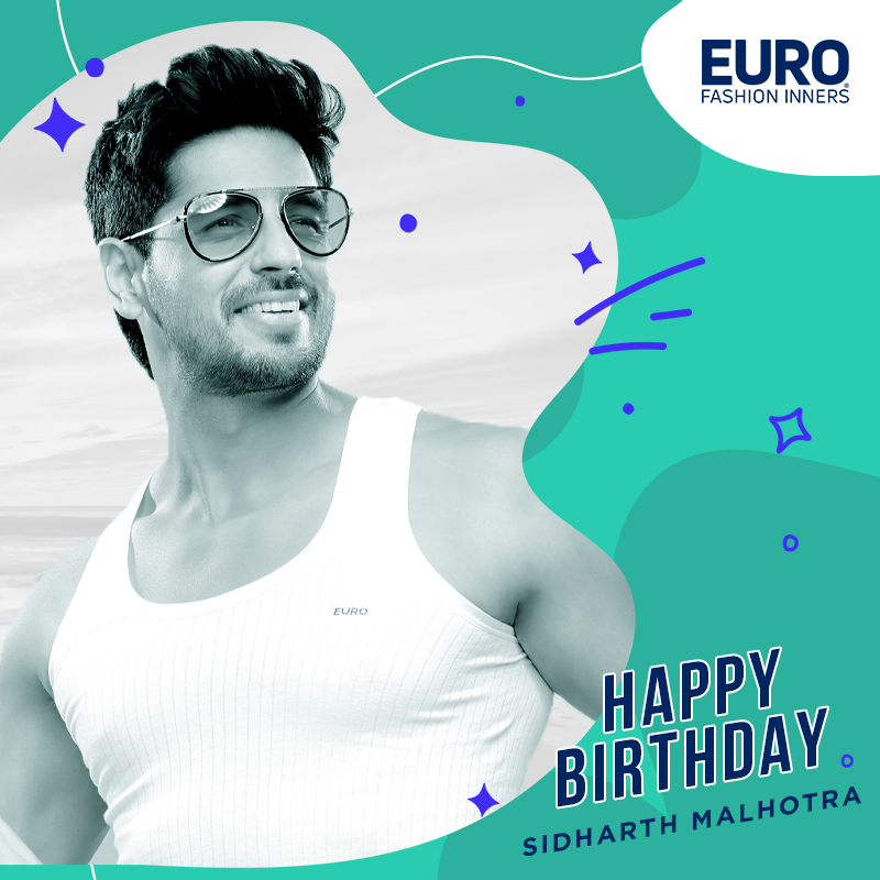 Euro Family Wishing You A Very Happy Birthday! 🎂@SidMalhotra   #HappyBirthdaySidharth #HappyBirthdaySid