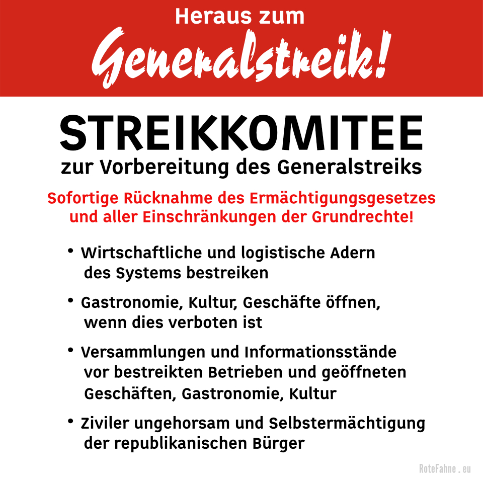 Streikkomitee zur Vorbereitung des Generalstreiks
