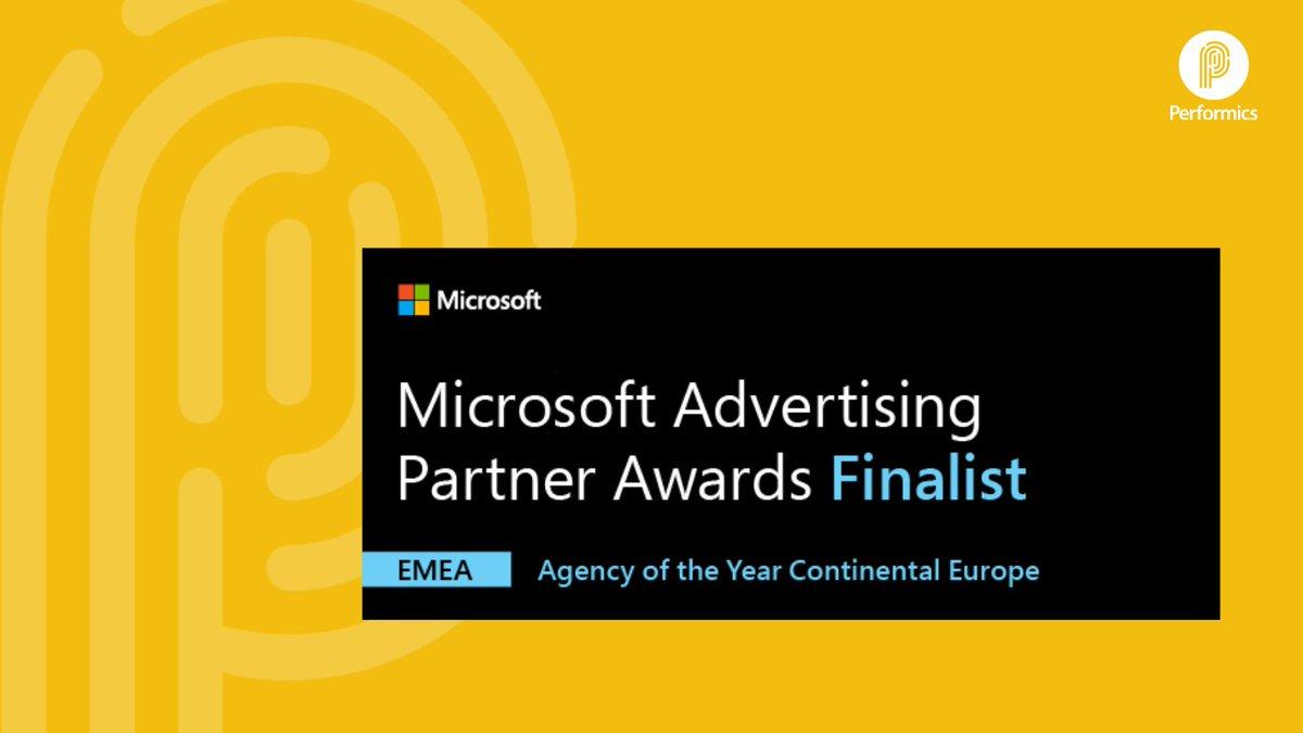 test Twitter Media - Ayer supimos que @performics_es somos finalistas de los #MicrosoftAdvertisingPartnerAwards de @Microsoft en Europa, como #AgencyPartnerOfTheYear 🥳 ¡Felicidades Equipo! 👏🏼 El  25 de febrero anunciarán los ganadores. ¡Deseadnos suerte! 🤞🏼 #MSFTAds #ForwardTogether @performics https://t.co/9e1kqBeEmr
