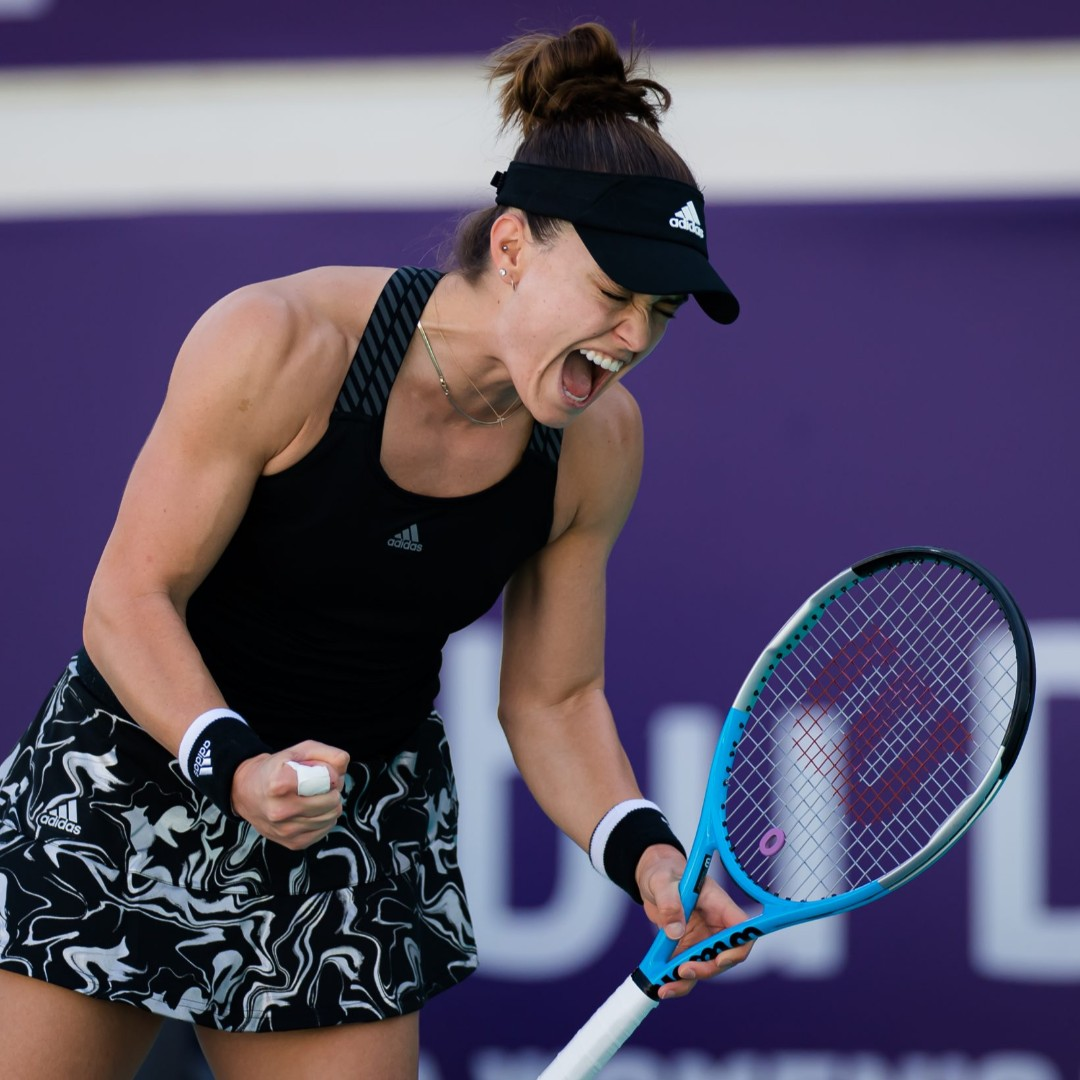 Fourth seeded Aryna Sabalenka of Belarus faces Russian Veronika Kudermetova in the final of the first WTA tournament of the year, the 2021 Abu Dhabi Open at 4AM(et) . @sbgglobal