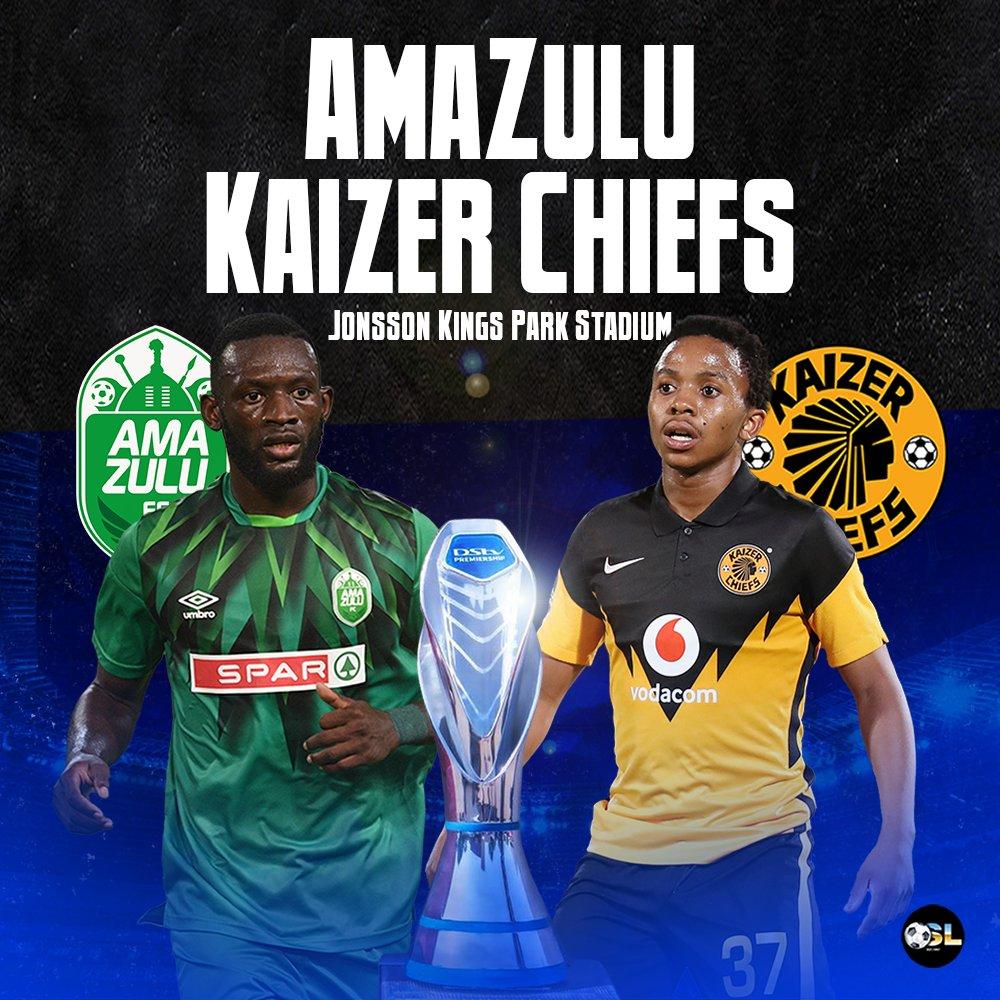 🇿🇦 How many #DStvPrem results can you predict?  AmaZulu vs Kaizer Chiefs SuperSport United vs Bloemfontein Celtic Tshakhuma FC vs Orlando Pirates  PSL Predictor ⏩ https://t.co/9KxkhKcplc https://t.co/mUr5Ll6ofW