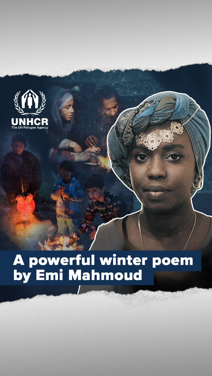 I wrote this to draw attention to the needs of our most vulnerable people this season. I hope you'll listen to my poem and 𝙧𝙚𝙨𝙥𝙤𝙣𝙙  this winter. Please donate to @refugees if you can, every bit helps ❤️