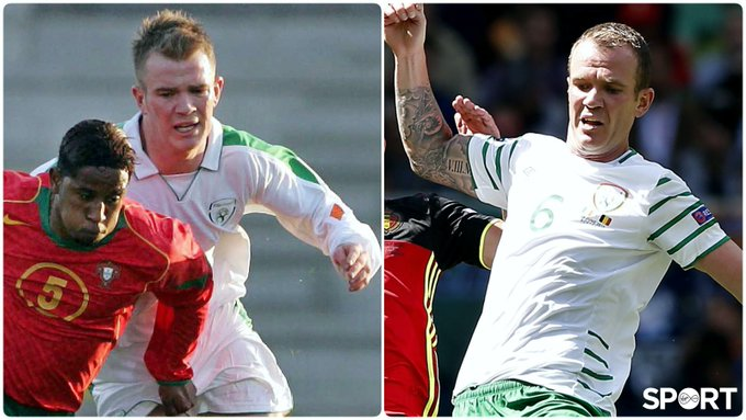 91 caps  37 years of age Happy birthday to Ireland\s (joint) 8th most capped footballer, Mr Glenn Whelan