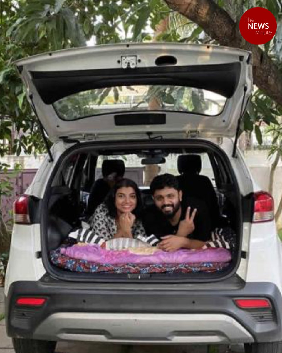 Replying to @thenewsminute: This Kerala couple documents stories of travelling in a refurbished car