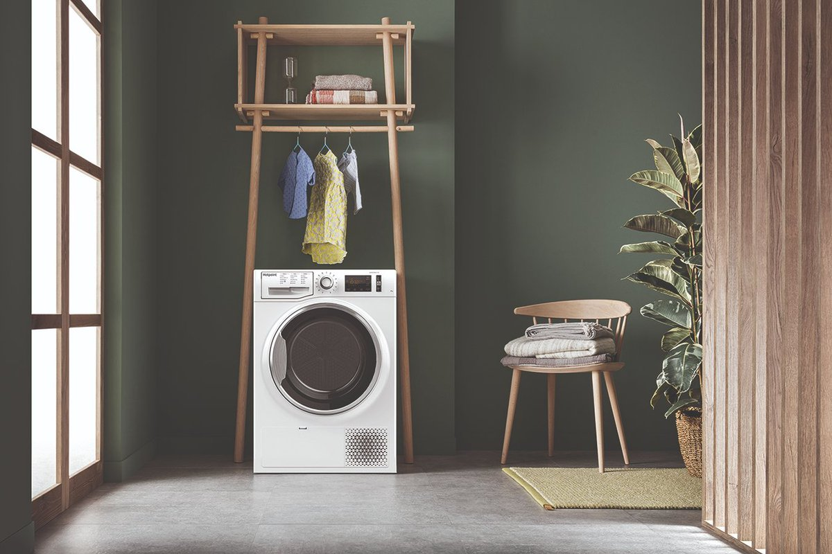 test Twitter Media - The Hotpoint ActiveCare tumble dryer (NT M11 82XB) benefits from heat pump technology, recycling warm air until clothes are perfectly dry, maximising energy efficiency and creating perfect results! #WednesdayWisdom https://t.co/k1D0AXeqvT