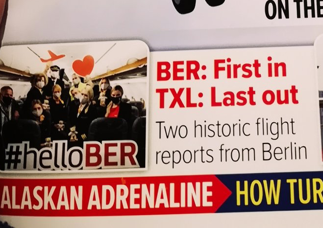 Out now: My premiere with @_AirlinerWorld reporting on tow epic flights @berlinairport - first into #BER, last out of #TXL #DankeTXL #avgeek Credit @_Alpha_Delta https://t.co/OUWzZVboj5