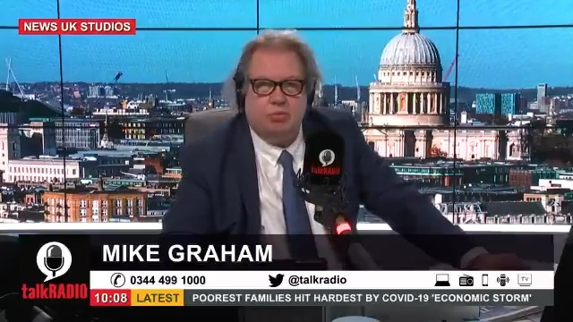"""Mike calls on the government to publish its lockdown exit strategy: """"I'm not really willing to put up with this forever…If you run a business, you need a plan…apparently this government doesn't have a plan."""" Watch the show ► youtu.be/NWAf136adns @Iromg"""