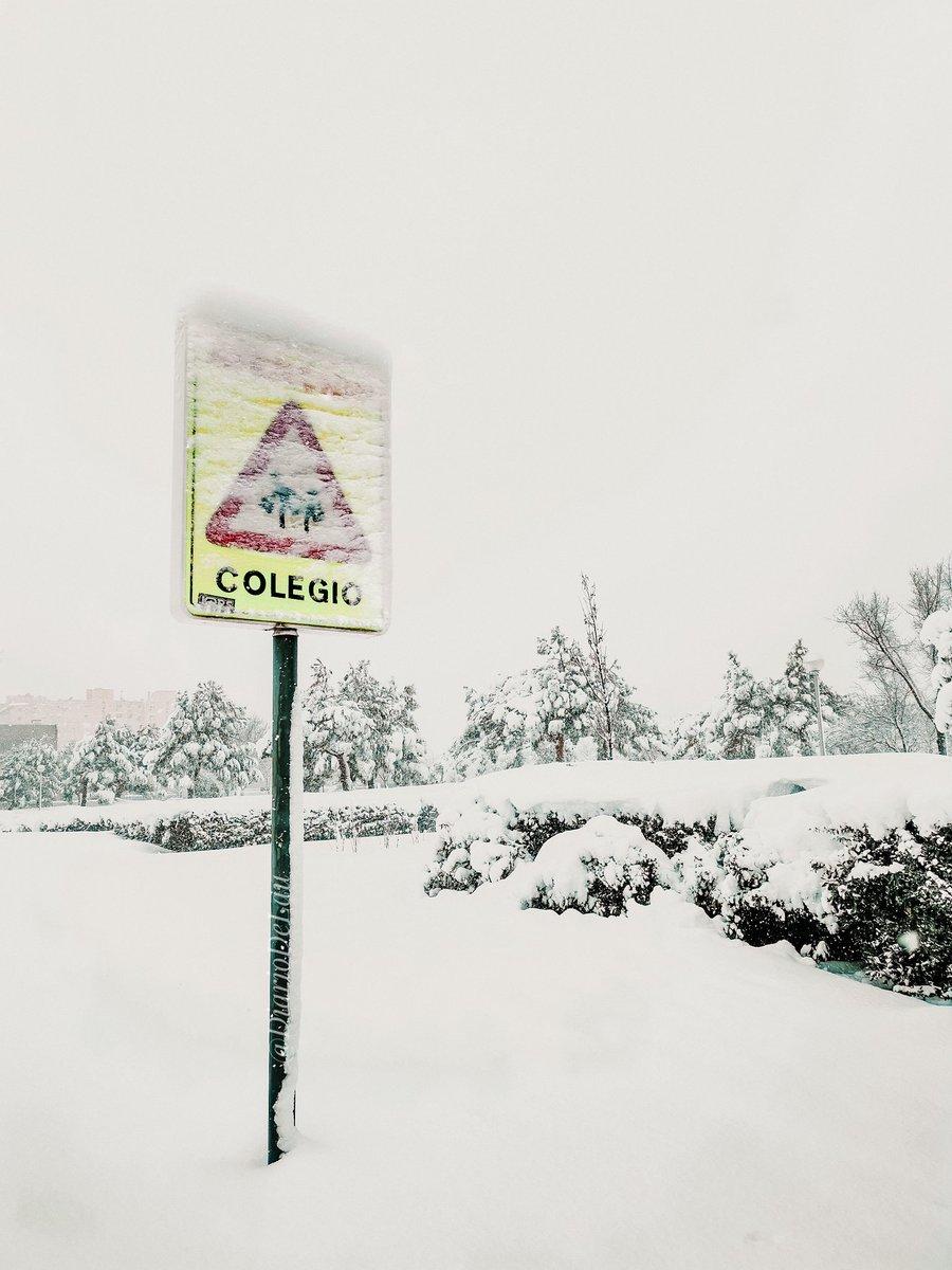 ☃️ Gran nevada en Madrid.  ❄️  ___ #Madrid #MadridNevado #MadridBajoLaNieve #Apocalipsis #nieve #Filomena #spain #espana #FelizMiercolesATodos #photooftheday #frozenlandscapes #frozen #FelizMiercoles #NevadaEnMadrid #WednesdayMotivation #wednesdaythought