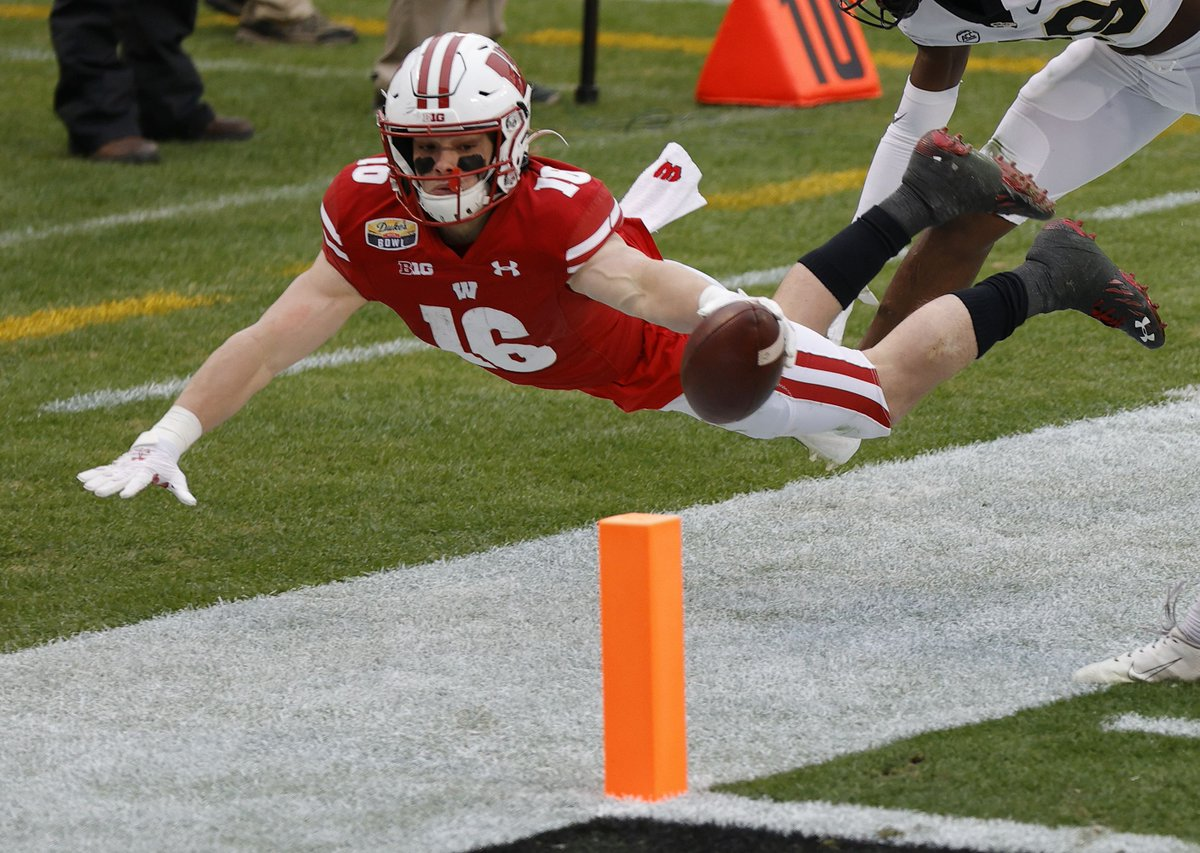 While the #Badgers landed per tradition in the teens according to most way-too-early rankings, Wisconsin's schedule next season includes six other teams that made the cut according to the same experts.  Wisconsin football: way-too-early 2021 polls overview