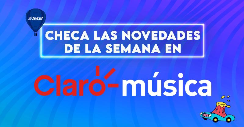 ¡Estos son los estrenos de la semana que no te puedes perder en @ClaromusicaMX! ¿Cuál es tu favorito? 🎧🎶📲