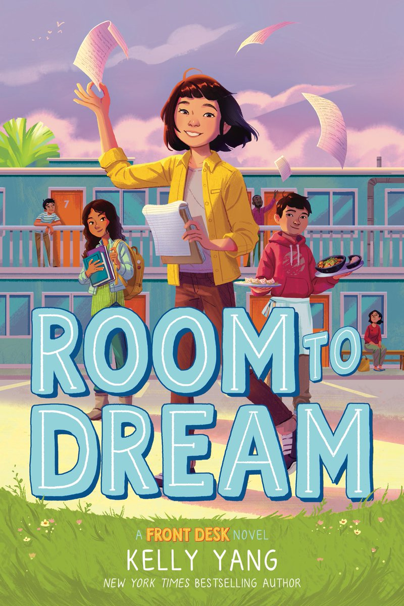 Are you ready to go on vacation..with Mia Tang?? ❤️📚✈️So excited to announce the 3rd FRONT DESK book ROOM TO DREAM publishes this Fall!!! 🎉🥳🙌 After years of hard work, the Tangs & Hank finally go on vacation...to Beijing! Where Mia is reunited w her cousins! RT to win an ARC!