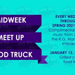 🚚🥪 Complimentary treats and music are happening TODAY at the Midweek Meet Up Food Truck, students! Come and get a grilled cheese sandwich, and enjoy music and time with friends! 2-4 p.m. in the R.G. Wanek Center Intersection! #HPU365