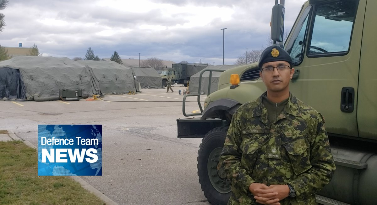 We spoke to Deputy CO of 31 CBGs Territorial Battalion, Major Fahad Afzal about #ExTRILLIUMDRAGON. Also now is the time to complete the 2020-21 Public Service Employee Survey #Defenceteamnews canada.ca/en/department-…