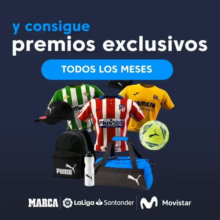 👕⚽ Camisetas de #LaLigaSantander, balones y material deportivo de @pumafootball...   😉🔝 ¡Todos estos premios te esperan en las nuevas ligas @movistar_es de @FantasyLaLiga!  📲👉 Descarga ya la app y conviértete en el mejor mánager:   #HayQueVivirla