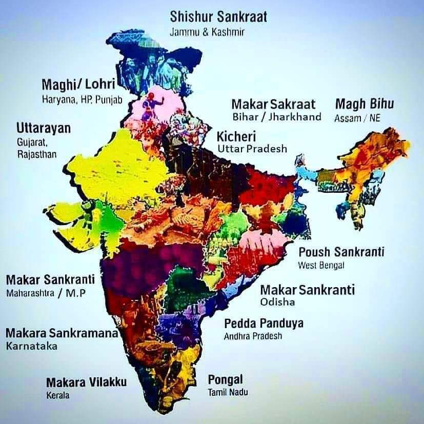 Something that bothers me is rarely does anyone understand just how multicultural #India is. These images show this. Each province has its own traditions. Being mindful of this is imperative. Tomorrow - Poush Sankranti for Bengalis! Today- Lohri  for Punjabis. Happy Lohri! @OCDSB https://t.co/SzVe32x15p