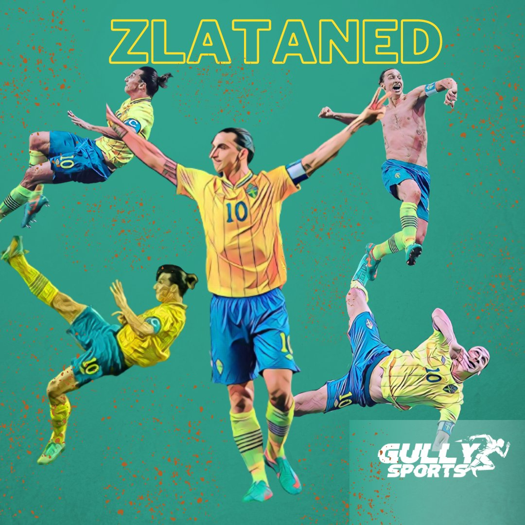 On this day in 2013, when #Puskas got Zlataned.  @Ibra_official won the Puskas award today in 2013 for his wonder goal against England.  #ZlatanIbrahimovic #Zlataned #Puskas #Sweden #England