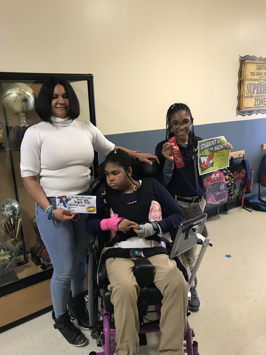 """Sabrina Allen of Lake Charles, LA, is a single mother to two special-needs girls. While evacuated for #HurricaneLaura, Red Cross shelter workers helped Sabrina secure important supplies, like a hospital bed and lift.  """"People I didn't even know adopted my family,"""" she said."""