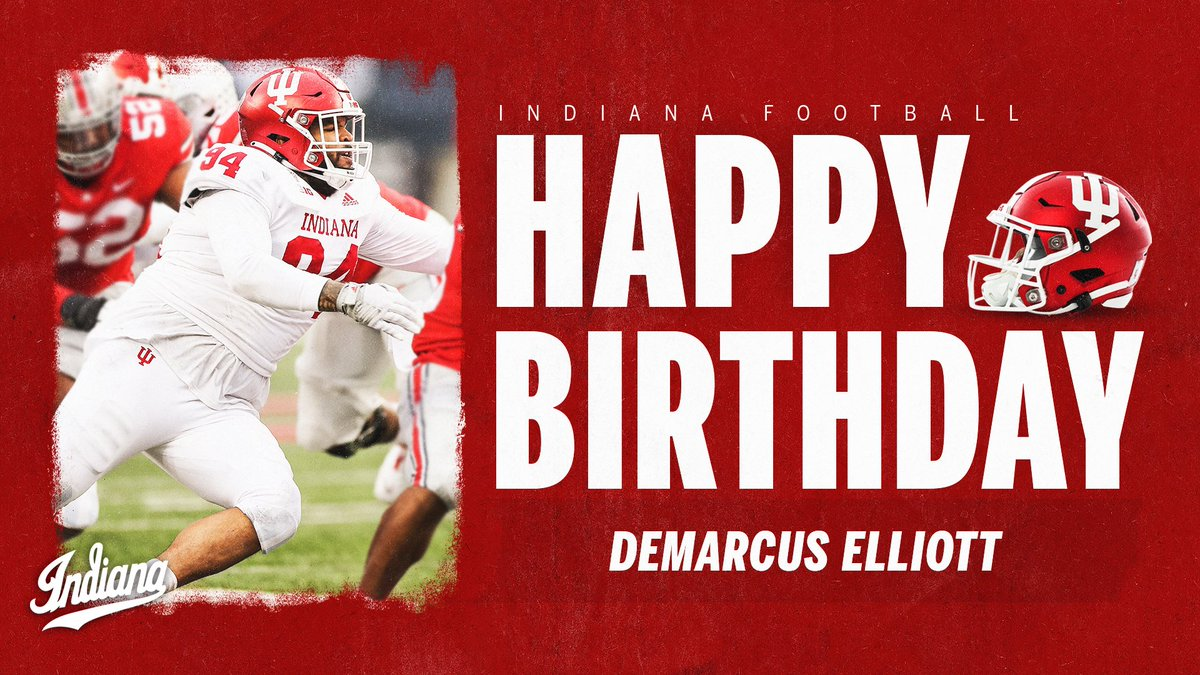 Replying to @IndianaFootball: 🎂🎂🎂  @DElliottXLV | #LEO