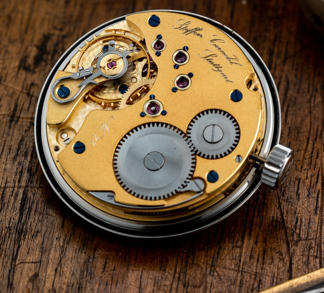 """""""The two most powerful warriors are patience and time."""" – Leo Tolstoy   #cornehl #cornehlwatches #time #timepice #germany #stuttgart #madeingermany #craftsmanship #artisan #uhren #watches #uhrmacherkunst #watchmaking #horology https://t.co/URArRRJWrX"""