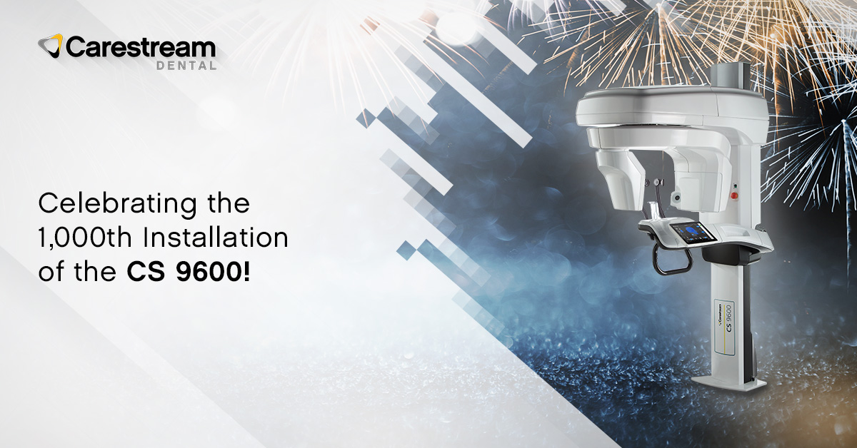 Learn why 1,000 practices have already installed the CS 9600. Are you ready to make it 1,001? Read more here: https://t.co/bTD7394MRp. #CarestreamDental https://t.co/qB7Vq1ZFyX