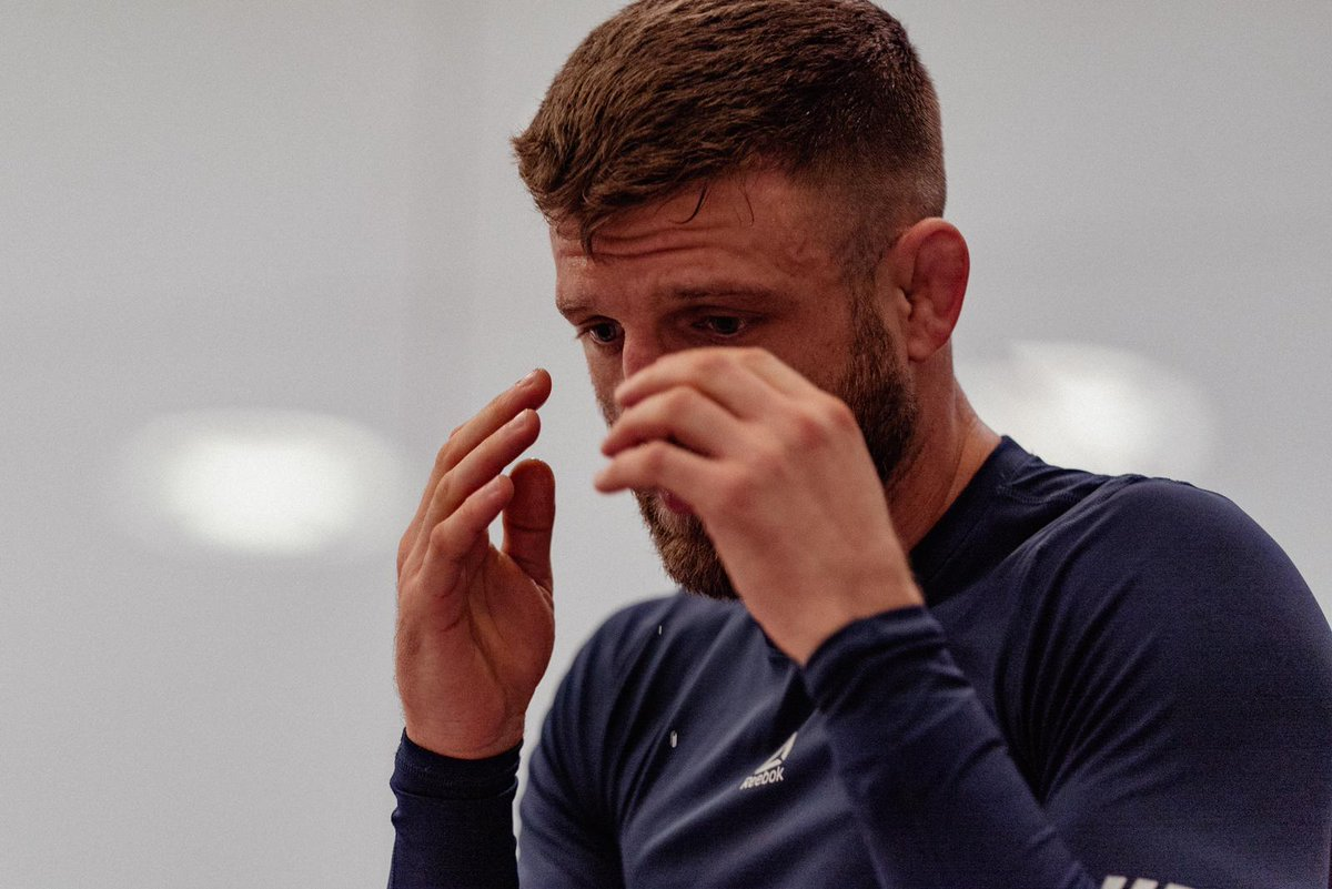 """""""To be the best, you have to beat the best...""""  On Saturday, that's @CalvinKattar's plan ☘️  [ #UFCFightIsland7 