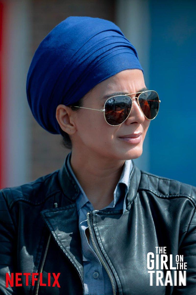 First Look:  Kirti Kulhari to play a British Cop in Ribhu Das Gupta's The Girl On The Train #TGOTT  Streaming on the 26th Feb, only on Netflix. . #KirtiKulhari @IamKirtiKulhari