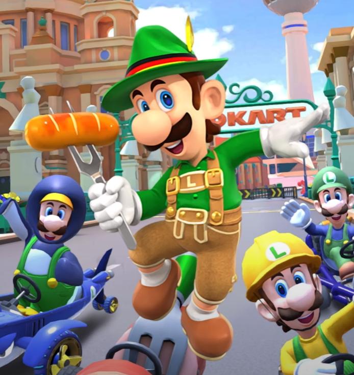 Zombey - Danke Nintendo, mehr als Lederhosen-Luigi habe ich im Leben nicht gebraucht