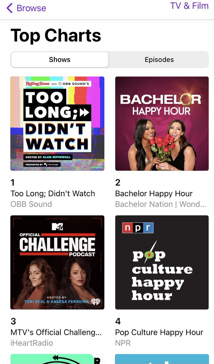 Well, this is exciting. Thanks to everyone who already checked out #TLDWPod, and I promise we have more ridiculousness in store! https://t.co/EJTxjuLSKv