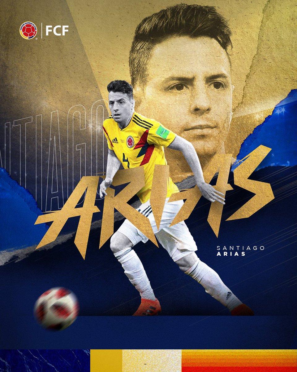 Felices 2⃣9⃣ Santi! 😗💨🎂  Nuestro mundialista @santiagoarias13 está de celebración y queremos enviarle un abrazo de gol en su día 🤗  ¡Que sean muchos más vistiendo la camiseta de la Selección 🇨🇴!