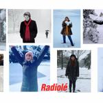 Image for the Tweet beginning: ¡Artistas Radiolé en la nieve