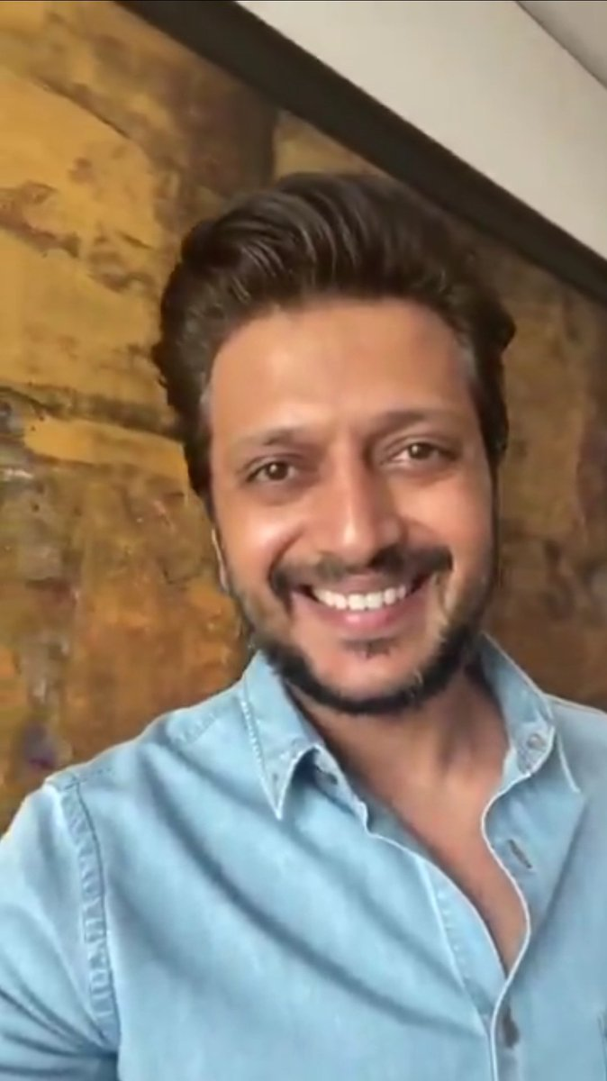 @Riteishd @Remilk_Foods @PremasBiotech @ImagineMeats @Riteishd❤❤❤@Riteishd❤❤❤ #WednesdayMotivation😘😍😘😍😘 #WednesdayThoughts 😍😘😍😘😍 #StayHomeStaySafe #StayHome  #IndiaFightsCorona #coronavirus👍 Okay I'm Waiting!!! 👍👍👍👍👍👍 Wow...How Sweet 🤗😘🤗😘🤗😘 Love u so much Bro. ❤😍❤😍❤