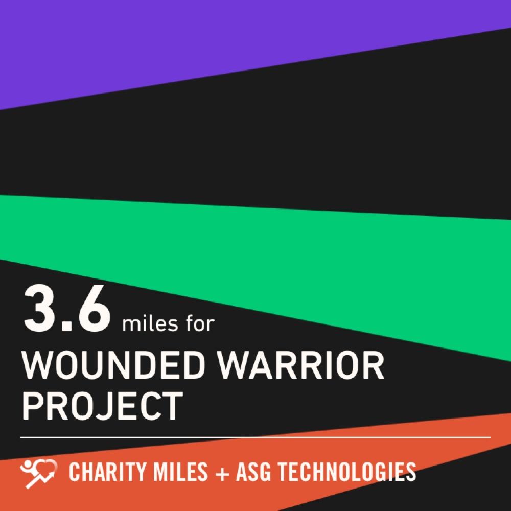3.6 @CharityMiles! #everymilematters #dontlettheoldmanin